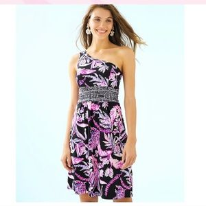 Lilly Pulitzer Malia One Shoulder Dress